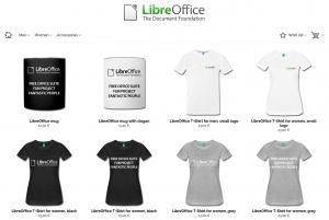 LibreOffice Merchandising Shop