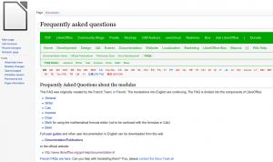 LibreOffice FAQ