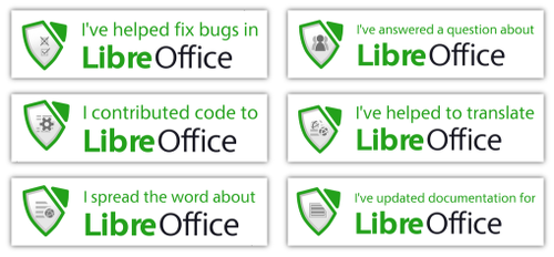 Month of LibreOffice badges