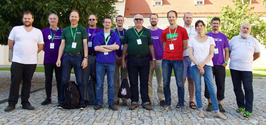 TDF founders in Brno