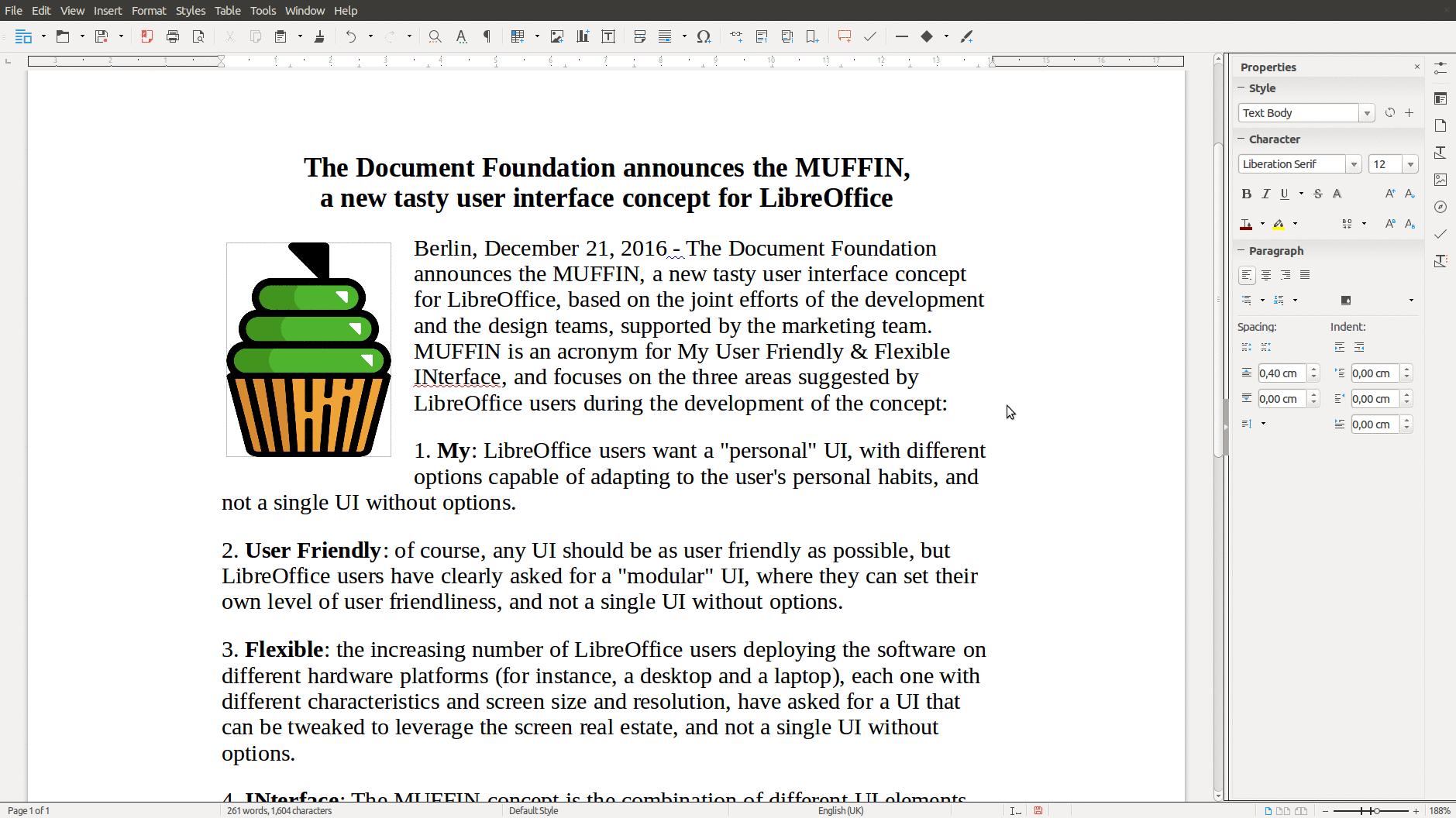 LibreOfficeDev Writer - Sidebar - The Document Foundation Blog