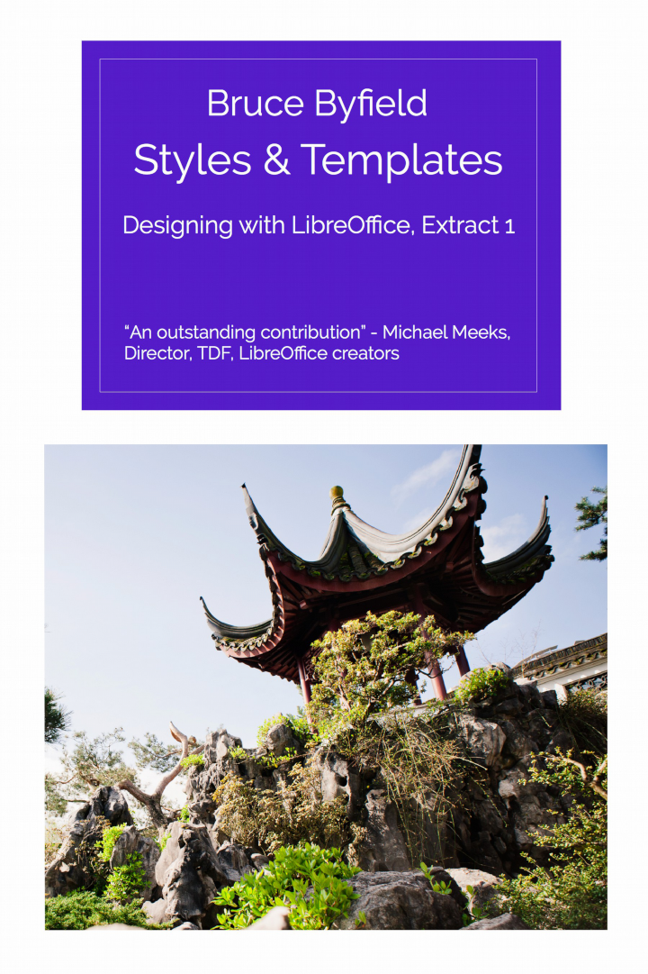 Friends Of Opendoent Has Just Released Another Excerpt From Bruce Byfield S Book Designing With Libreoffice Called Styles And Templates