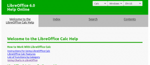 Taming the LibreOffice Help System - The Document Foundation