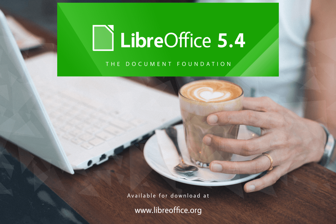 LibreOffice 5.4 released with new features for Writer, Calc and Impress