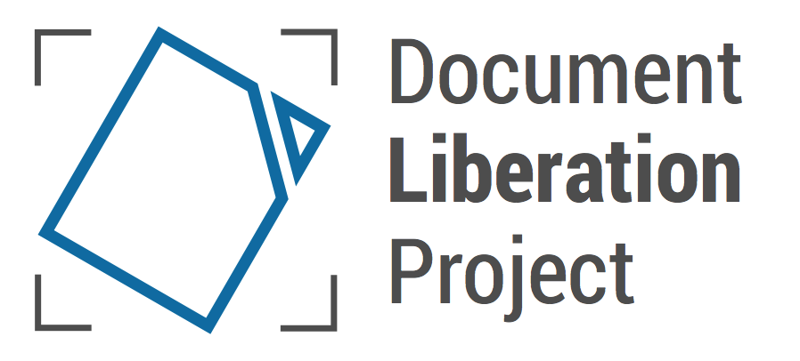 The Document Liberation Project Announces Five New Or Improved