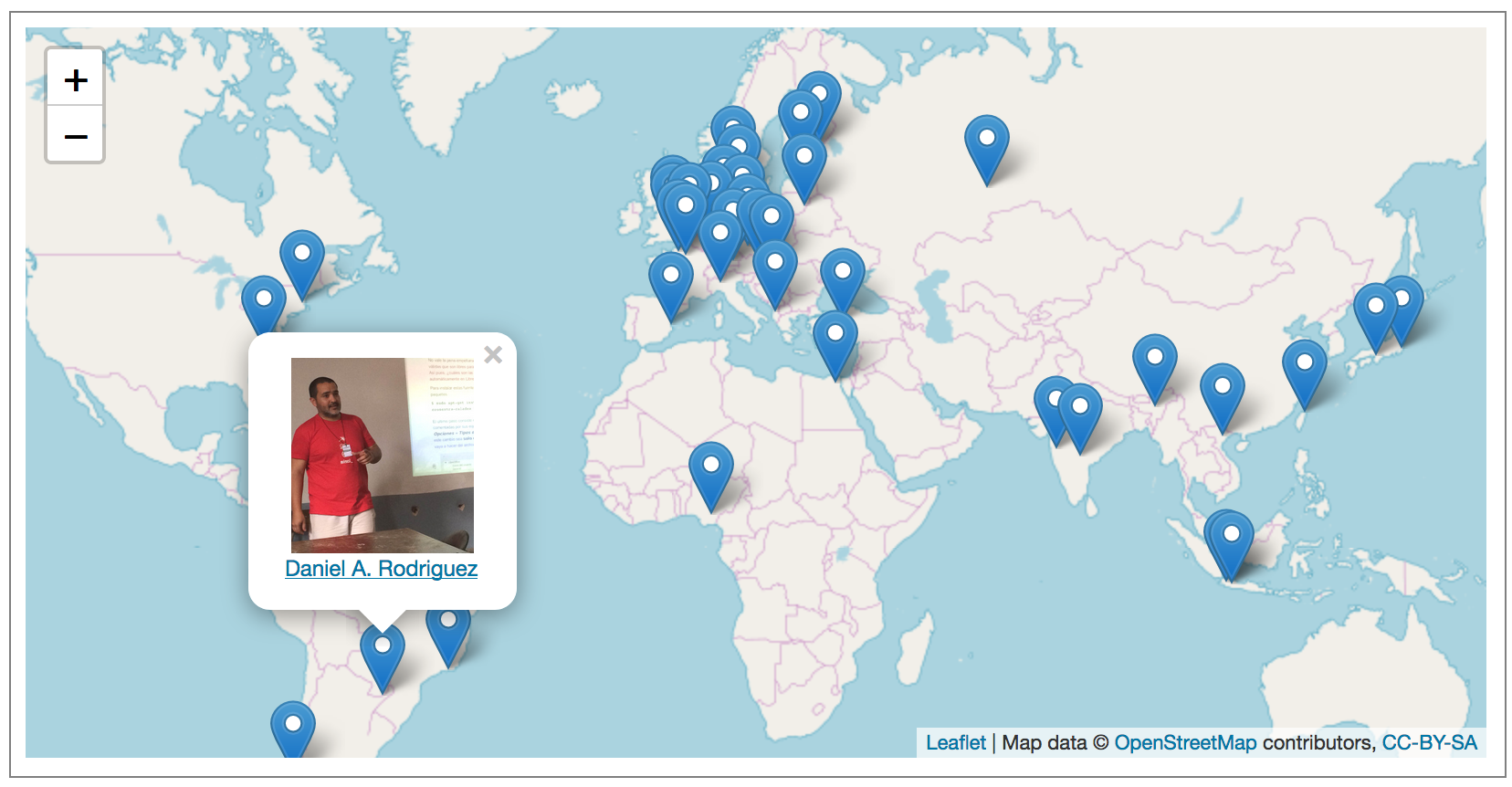 Find a LibreOffice community member near you! - The Document