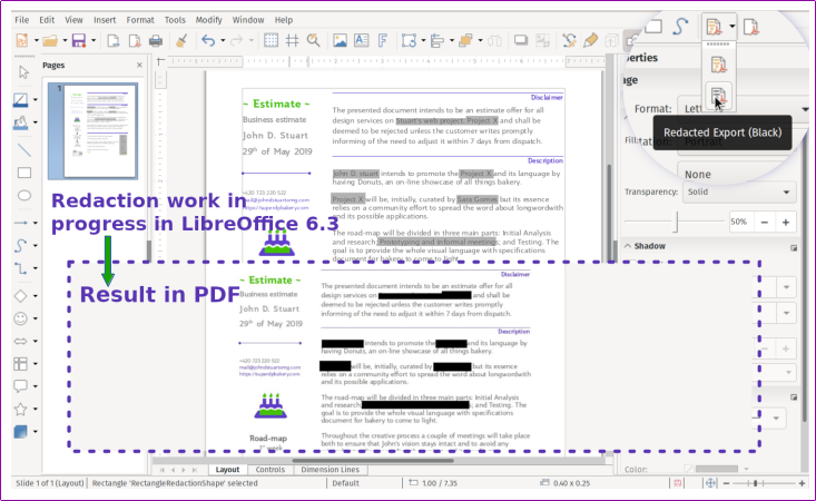 The Document Foundation announces LibreOffice 6 3 - The Document