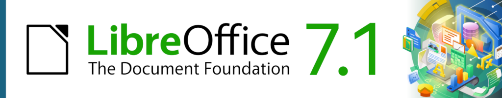 LibreOffice 7.1 Community released by The Document Foundation