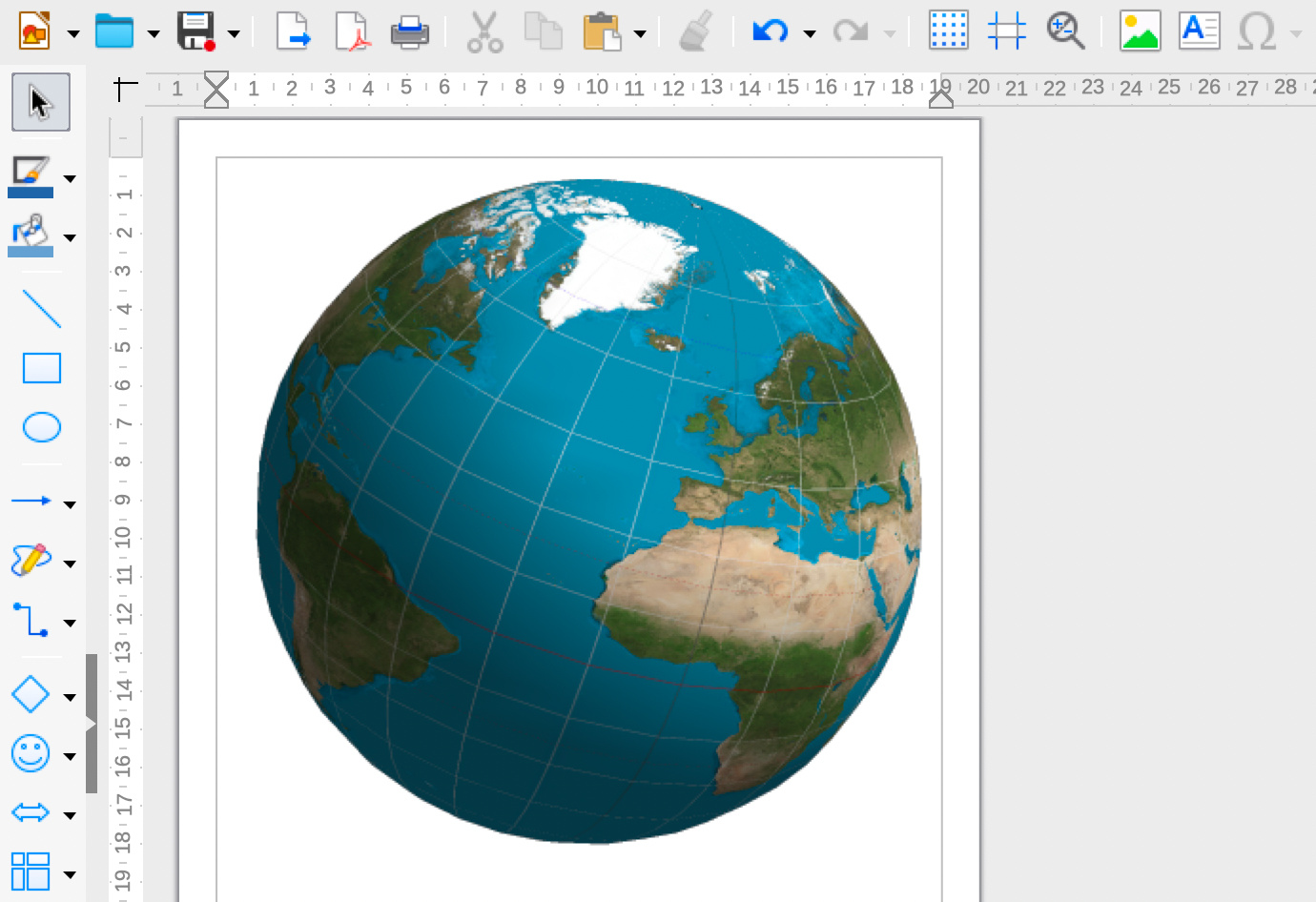3D Objects: Making a Globe with LibreOffice